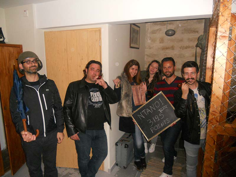 team of people escape room Λεμεσός Κύπρος